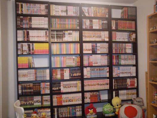 bibliothèque manga