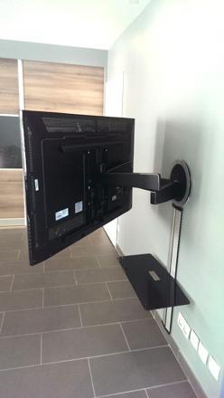 bras telescopique tv