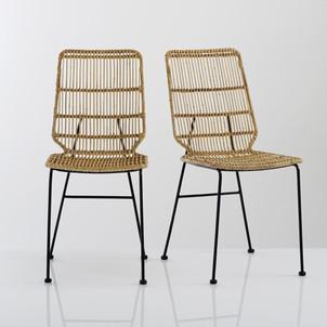 chaise osier