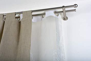 double tringle rideau