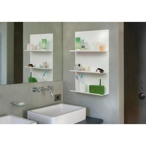 étagère pour salle de bain