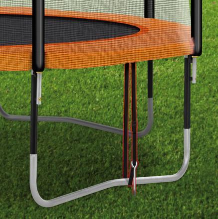 kit ancrage trampoline