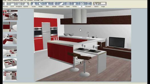 logiciel conception cuisine
