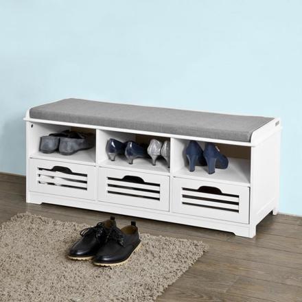 meuble chaussure banc