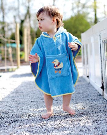 poncho de plage bébé
