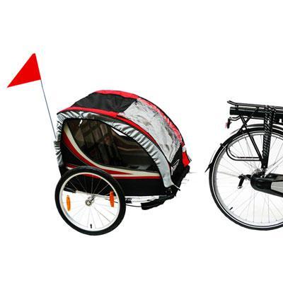 remorque vélo bébé
