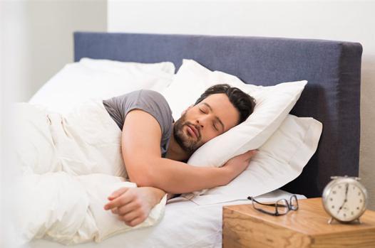 sleep and bed