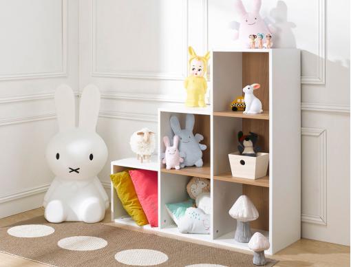 bibliothèque chambre bébé