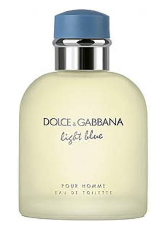 dolce gabbana light blue homme