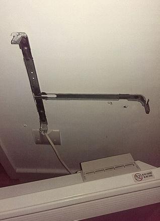 fixation radiateur electrique
