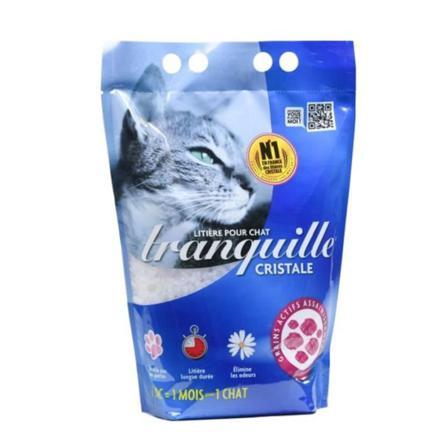 litiere cristaux chat