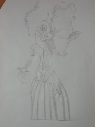 mes dessin monster high
