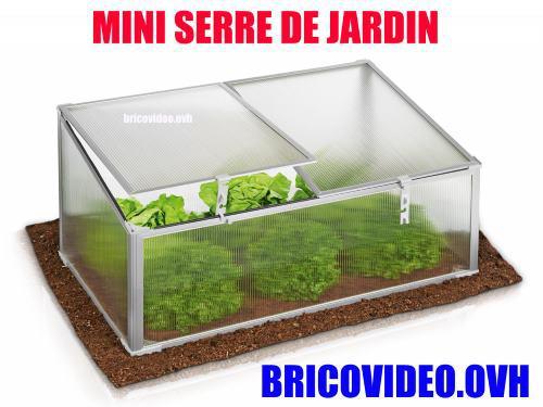 mini serre de jardin