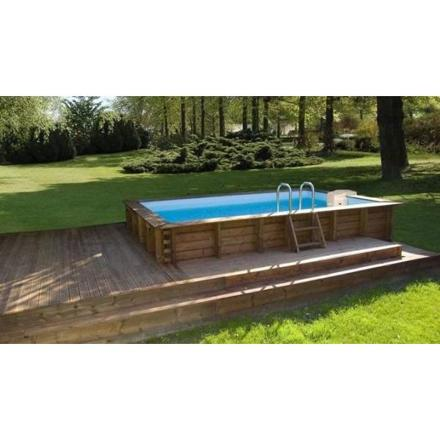 piscine hors sol rigide