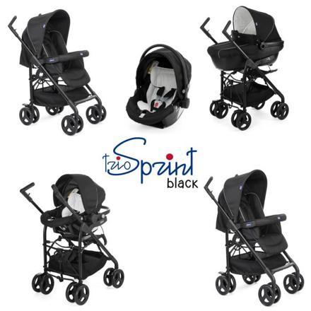 poussette chicco trio sprint black