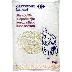 riz soufflé pour chien
