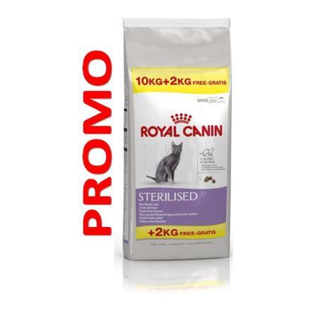 royal canin sterilised 37 10kg 2kg