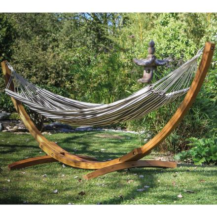 support hamac bois