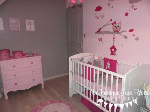 thème chambre bébé fille