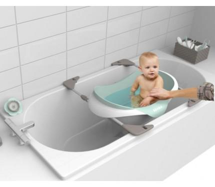 baignoire bébé sur baignoire adulte