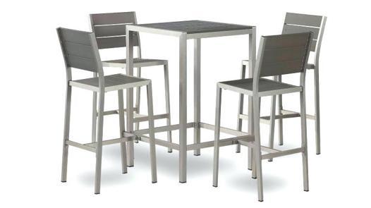 chaise haute table