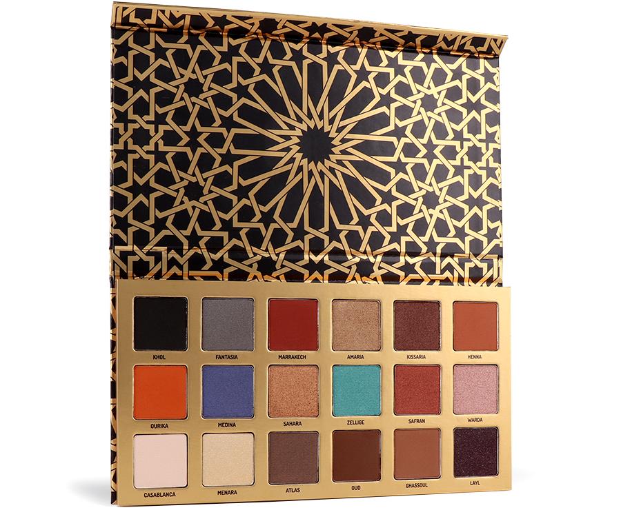 palette moroccan