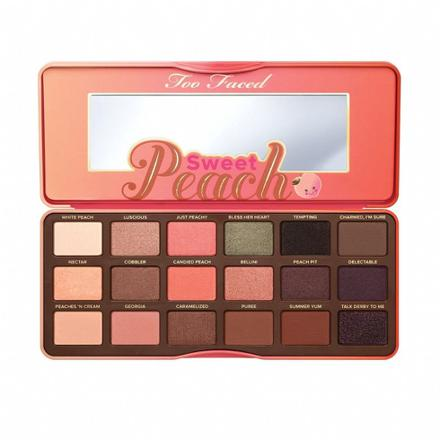 palette peach too faced