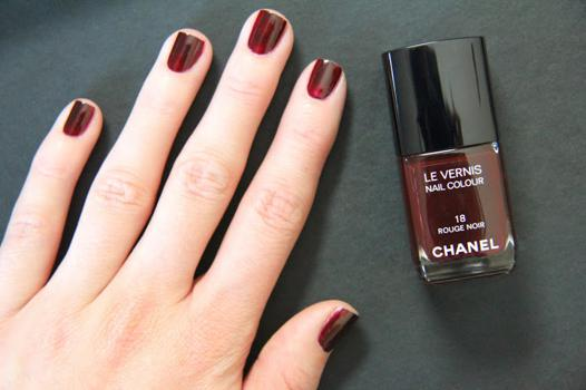 rouge noir chanel